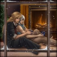 Christmas in Sardisia by Blind-Leviathan