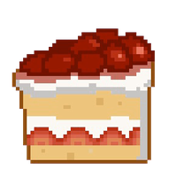 Strawberry Shortcake Pixel Art by Karisean
