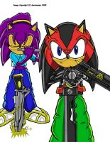 Fire and Steel-Sonic Adventure by Sonicsamus
