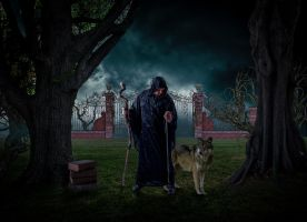THE DARK MAGICIAN PHOTO MANIPULATION by AR-DESINGS