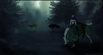 Ghosts of the Forest - Halloween Entry by TahkiBK