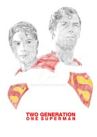 2 generation 1 superman by SAMPLE2