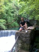 Me with a waterfall 2 by Milosh--Andrich