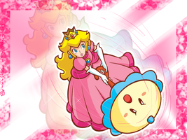 Peach Wallpaper by Chivi-chivik