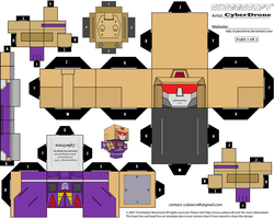 Cubee - Blitzwing '1of2' by CyberDrone