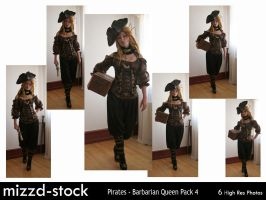 Pirates - Barbarian Queen Pack 4 by mizzd-stock