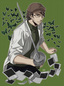 Dr.Kondraki / Illusory Butterflies by GhostN