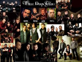 Three Days Grace Collage by TallyBaby13