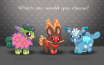 FAKE POKEMON - Which one would you choose? by MyHandsAreCrazy
