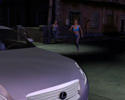 Jill gets to her car by spandexsleuth