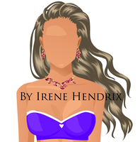 Great Couturier vector hairstyle by IreneHendrix