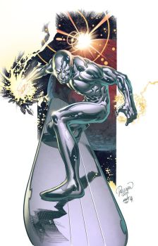 Silver Surfer by spidermanfan2099