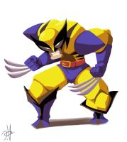 Wolverine by chikinrise