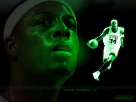 Mean Green - Paul Pierce by SnapHook