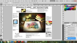 Bookstore website design by Narxinba222