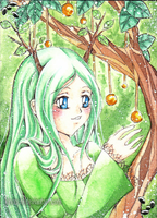 ACEO: Nature green by kinouchi
