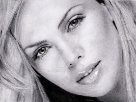 Charlize Theron by Minisid