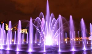 Park fountains by Meteorolog