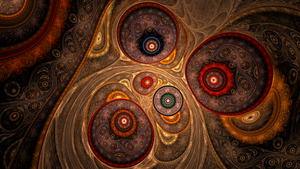 Lustrously Arranged Tapestry by metafrost
