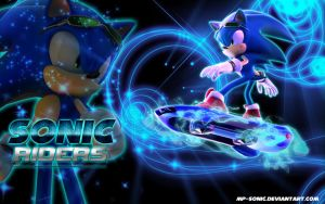 SONIC RIDERS Wallpaper by MP-SONIC