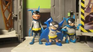 JLU BATMAN FAMILY: BAT-MITES by monitor-earthprime