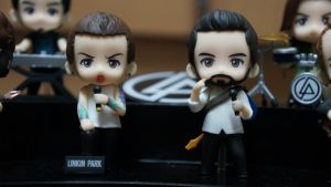 Mini Chester and Mike by raticide