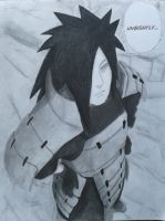 This Is Unsightly - Madara Uchiha by JamesUchiha