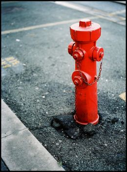 Red Hydrant by ZoSo74