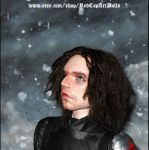 Winter Soldier inspired 1/6 scale art doll 05 by LilliamSlasher
