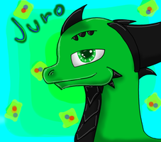 Juro - Headshot by TorchTheDragon