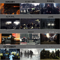 Gallery Timeline 2014 by Kokyal0rd