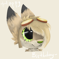 Birthday gift for SophieTheGriffin by TruffulaThePsyco