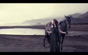 Lady and Horse by Child0fBodom