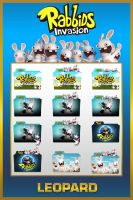 Leopard Rabbids Invasion Folders by TMacAG