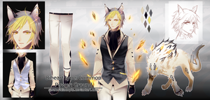[CLOSED] Auction Adopt Biheart The Yellow Sapphire by sarahwidiadopts