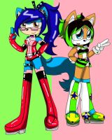 More Punky And Zen by queenmafdet