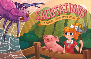 Salutations Promo by chelseyholeman