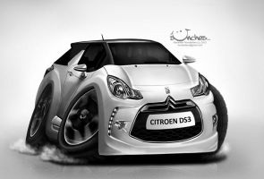 Citroen DS3 by creaturedesign