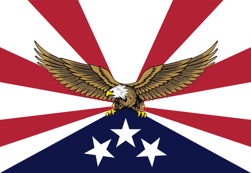 [Redesign] Flag of the  U.S.A. v4 by vexilologia