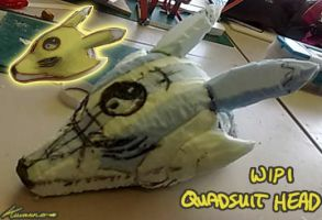 Digimon Quadsuit WIP 4 by Yuki-Moon