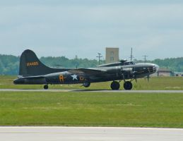 B-17 MEMPHIS BELLE by Dracoart-Stock