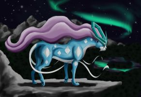 Suicune: Beast of Water by Legend13