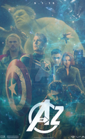 The Avengers 2 (FAN-MADE) Movie Poster v9 by DiamondDesignHD