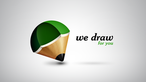We draw for you logo by grumble-bum