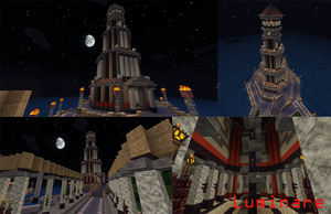 Minecraft- Classical Style Lighthouse by X-Luminare-X