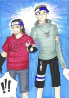 Naruto Style DJ and Red by DJ-Anarchy