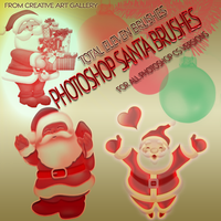 PHOTOSHOP SANTA BRUSHES by BABI40