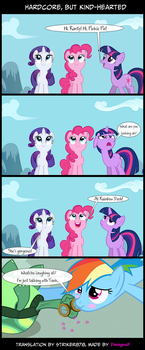 Comic: Hardcore, but kind-hearted by Str1ker878