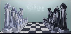 CHESS_matte by silverteahouse