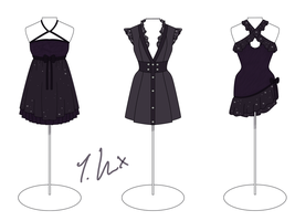 Midnight Dancer Collection by Pure-Hikari
